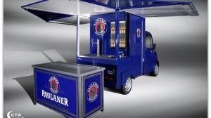 Paulaner Ausschankmobil  Ausschankwagen