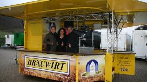 Neuer Bierausschankwagen für BräuWirt in Weiden