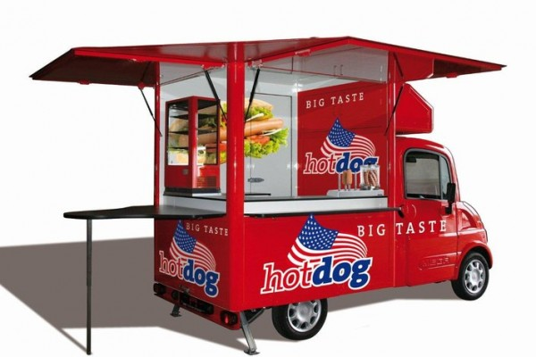 Freddymobil - Konzept Hot Dog