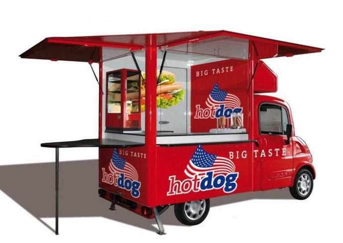 Freddymobil - Konzept Hot Dog