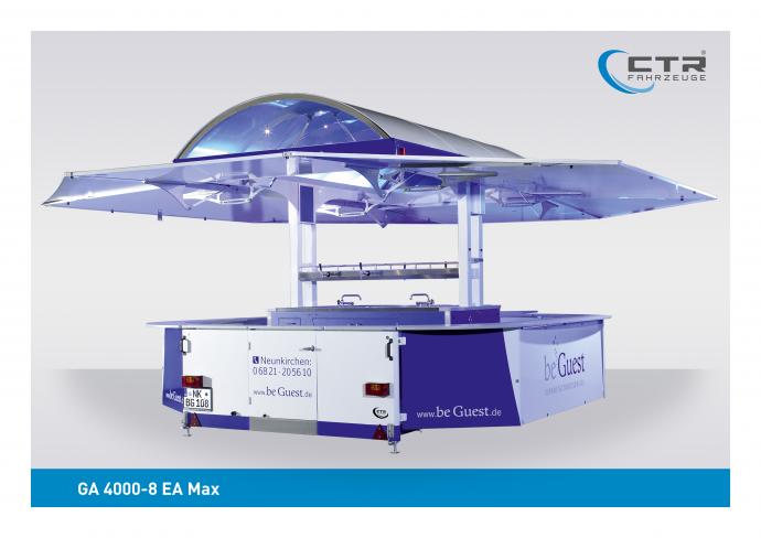 Ausschankwagen GA 4000-8 EA Max beGuest