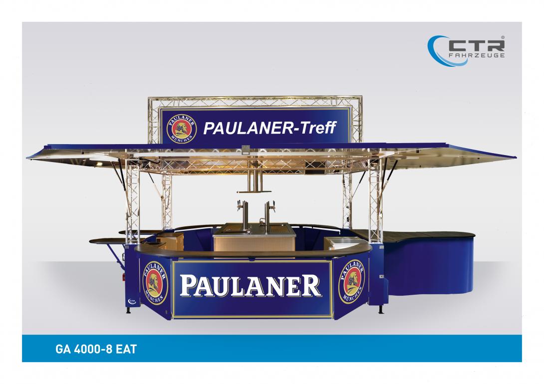 Ausschankwagen GA 4000-8 EAT Traverse Paulaner