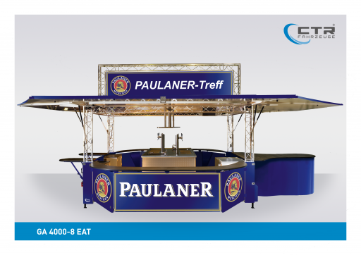 Ausschankwagen GA 4000-8 EAT Traverse Paulaner'