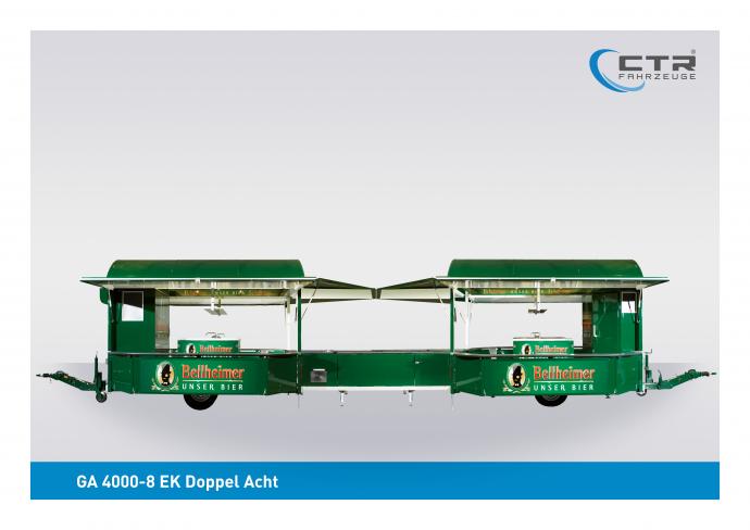 Ausschankwagen GA 4000-8 EK Doppel Acht Park Bellheimer