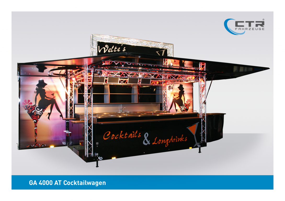 Mobile Cocktailbar GA 4000 AT Cocktail Welte
