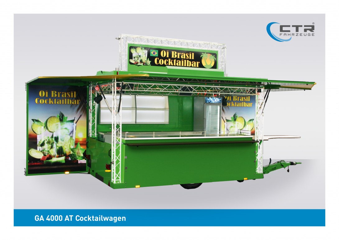 Mobile Cocktailbar GA 4000 AT Oi Brasil