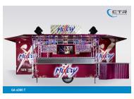 Mobile Cocktailbar GA 4000 T Mixery