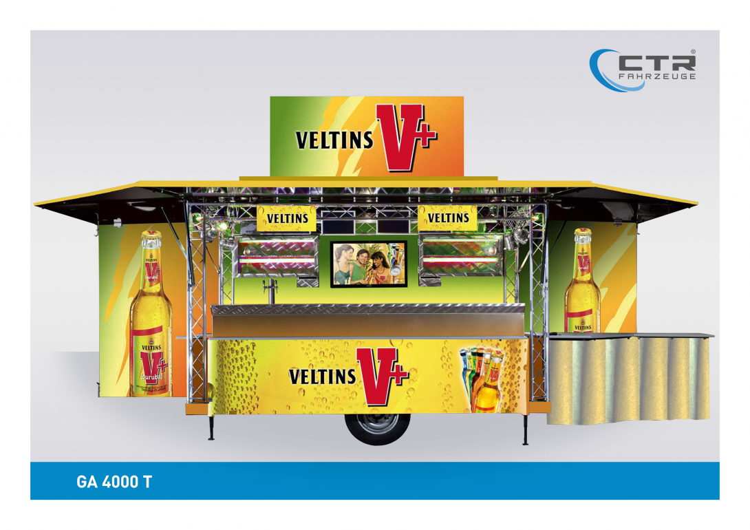 Mobile Cocktailbar GA 4000-T Veltins V+