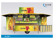 Mobile Cocktailbar GA 4000-T Veltins V+