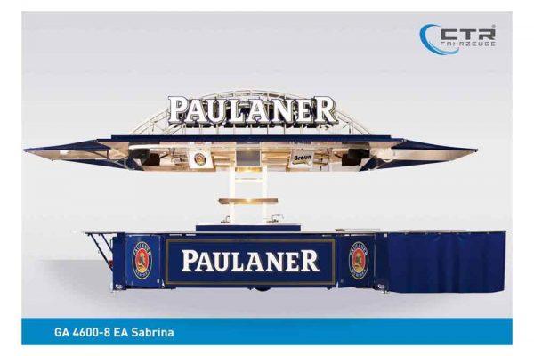 GA 4600-8 EA Sabrina, Getränke Braun, Paulaner