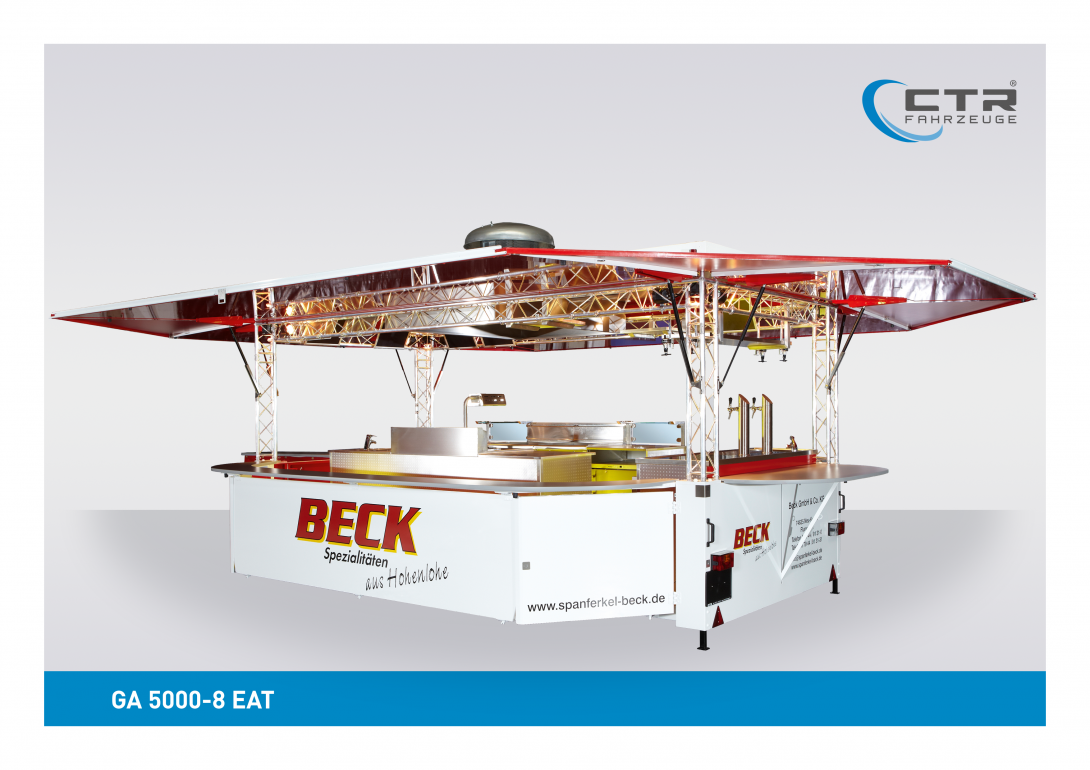 Grillfahrzeug GA 5000-8 EAT Beck