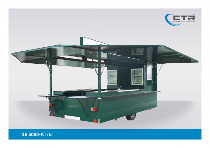Ausschankwagen GA 5000-K Iris Eichbaum