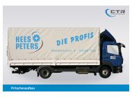 LKW Aufbaute Hees & Peters seitlich