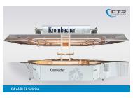 Ausschankwagen GA 4600 EA Sabrina Krombacher