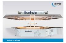 Ausschankwagen GA 4600 EA Sabrina Krombacher'