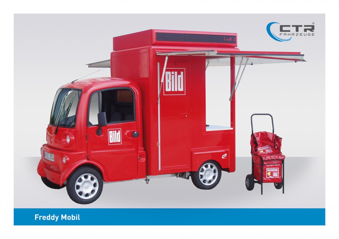 Freddy Mobil Promotionmobil Bildmobil
