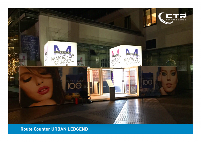 Promocube Route Counter L'Oreal