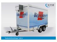 CTR-Fahrzeuge Kühlanhänger TKA 3,60 Bellaris