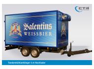 CTR-Fahrzeuge Kühlanhänger TKA 4,0 Hochlader Valentins
