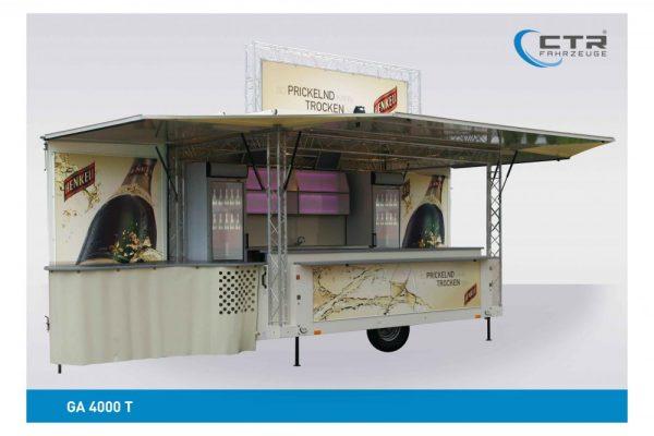Verkaufswagen für die Firma Henkell