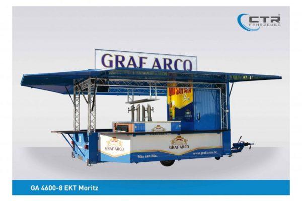 Ausschankwagen mit Kühlhaus, Traversen - Graf Arco