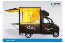 Kleiner Verkaufswagen – Konzept O's Curry'