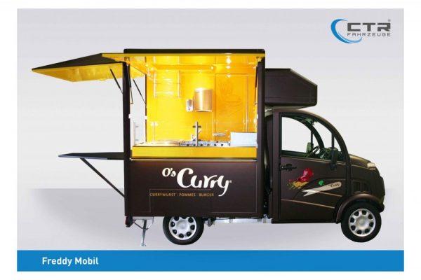Kleiner Verkaufswagen - Konzept O's Curry