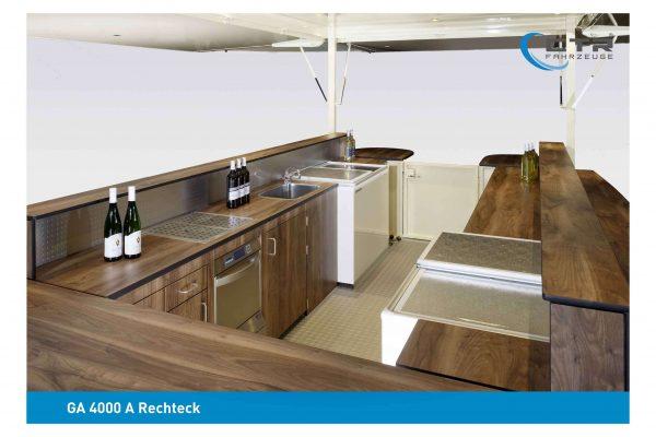 Holzausstattung Detailansicht GA 4000 A Rechteck