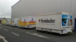 10 neue Ausschankwagen im MK Style für Getränke Krietemeyer