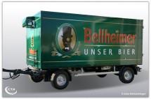 2 Achs Kühlanhänger Bellheimer'