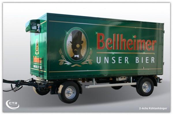 2 Achs Kühlanhänger Bellheimer