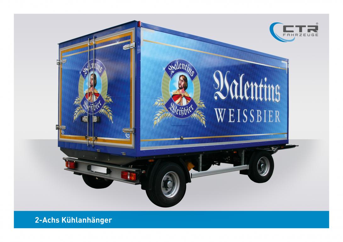 CTR-Fahrzeuge Kühlanhänger 2-Achs Valentis