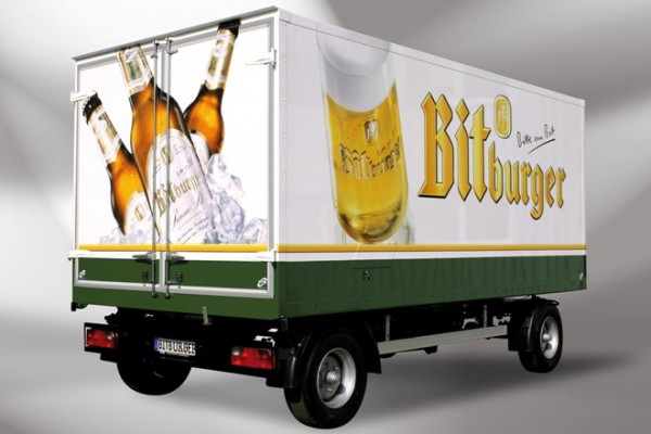 Kühltransporter Bitburger