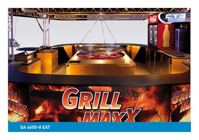 Grillfahrzeug 4600-8 EA Grill Maxx