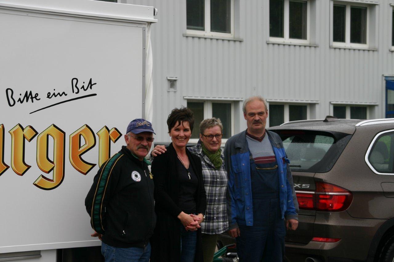 Partycooler Leon für Getränke Jung und Abschied von Ruth Steffen