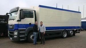 Aktuelle Auslieferungen - mobiler Ausschank und LKW-Schwenkwandaufbau  CTR