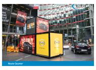 Promocube Route Counter Art Life Opel Berlin Rückseite