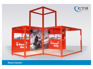 Promocube Route Counter Art Life Shell