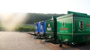 Auf der Straße nach Süden - als Ziel die Park-Bellheimer Brauereien