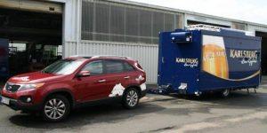 Ausschank Wagen für Karlsberg