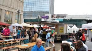 Berliner Friedensfest mit CTR Fahrzeugen