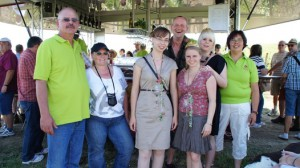 Besucher von Weingut Berg