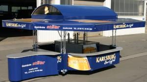Bierwagen 4000 - 8 E(A) mit Traversen