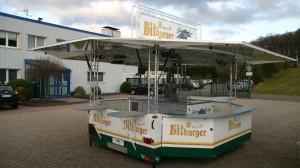 Bierwagen Chris für Getränkestraße Nunkirchen CTR