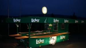 Bierwagen für Licher Brauerei