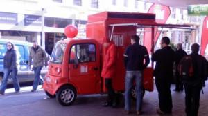 CTR-BILD-Mobile in der ältesten Stadt Deutschlands
