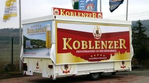 CTR-Fahrzeug für die Koblenzer Brauerei