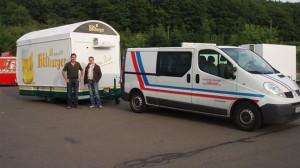 CTR-Fahrzeuge für den Veranstaltungsservice von Getränke Vendel