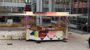 CTR-Weinverkaufswagen am Winzerinfotag in Heilbronn