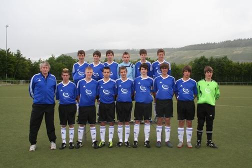 Jugendmannschaft des SV Mehring U 15